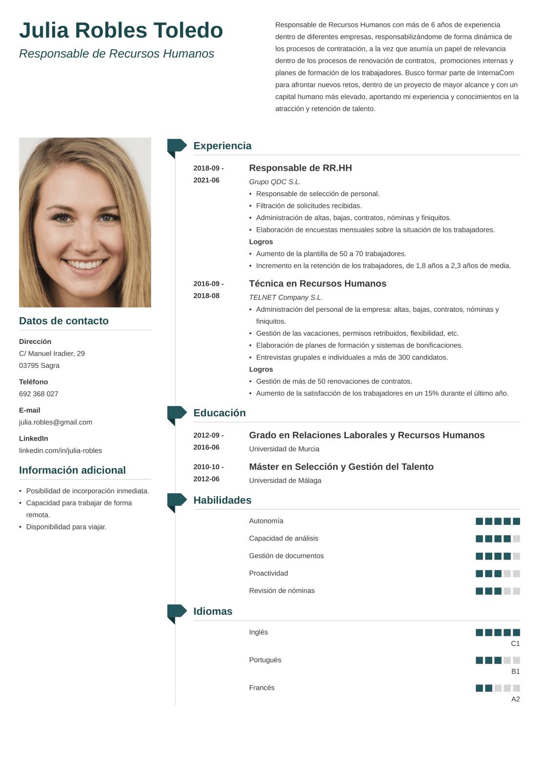 CV online muse