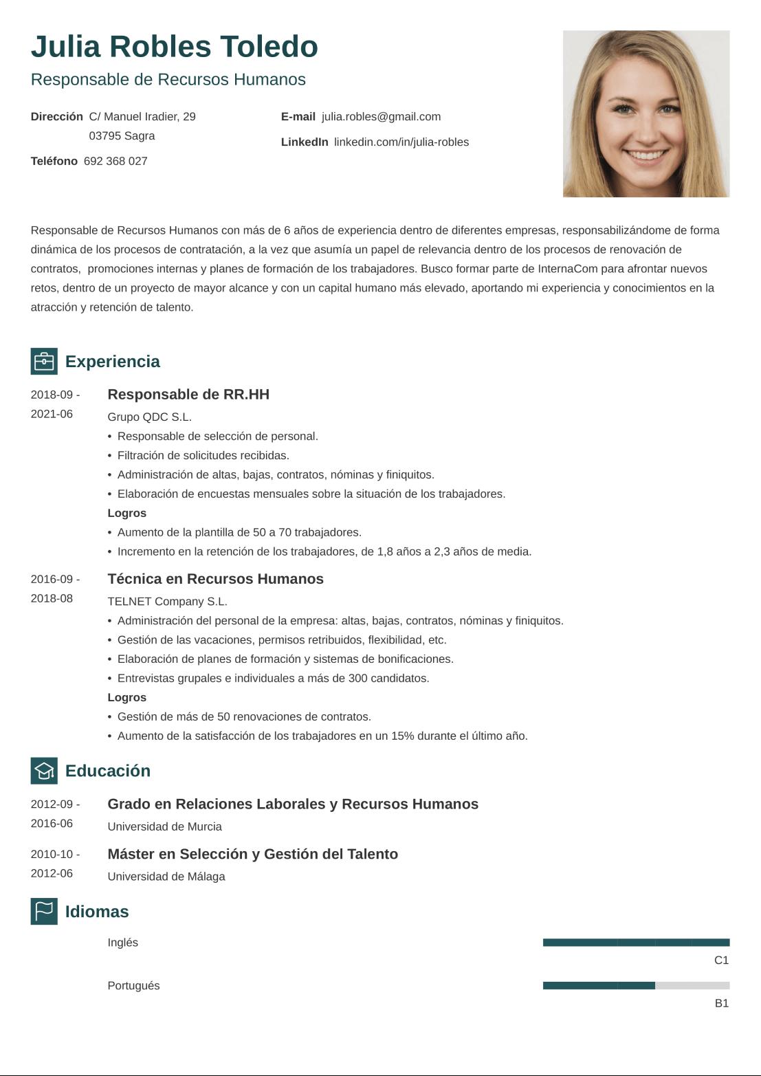 CV online newcast