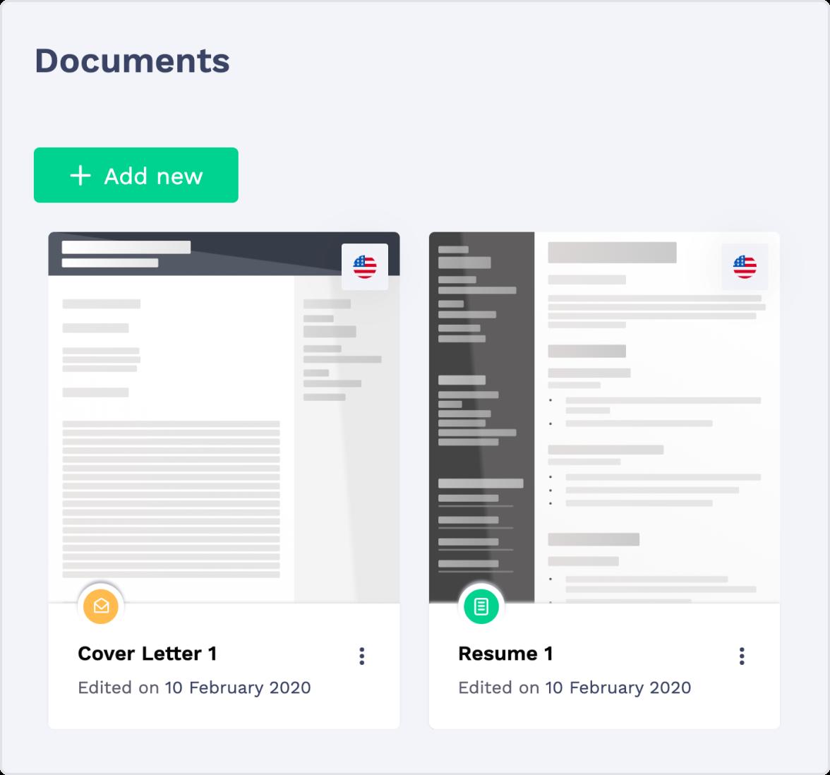 Cover Letter Builder Online Document Storage