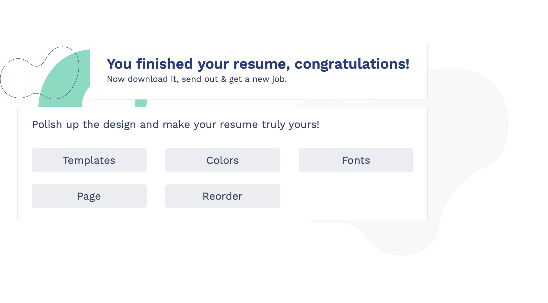Resume Builder Step Three Download