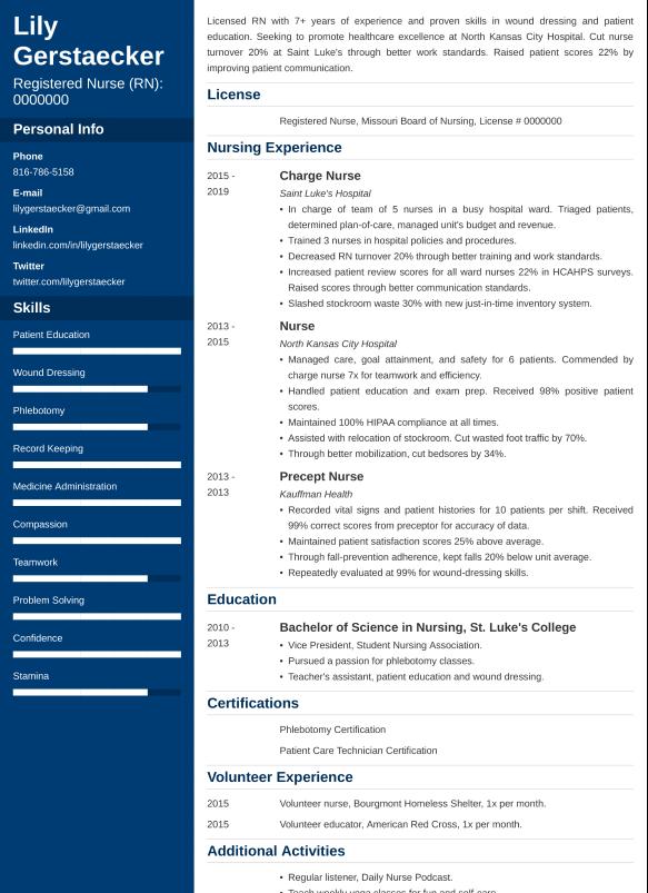 nursing resumelab