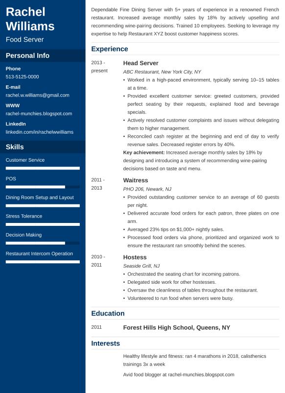 server resumelab