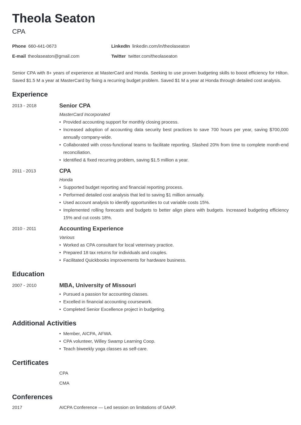 accounting template minimo uk