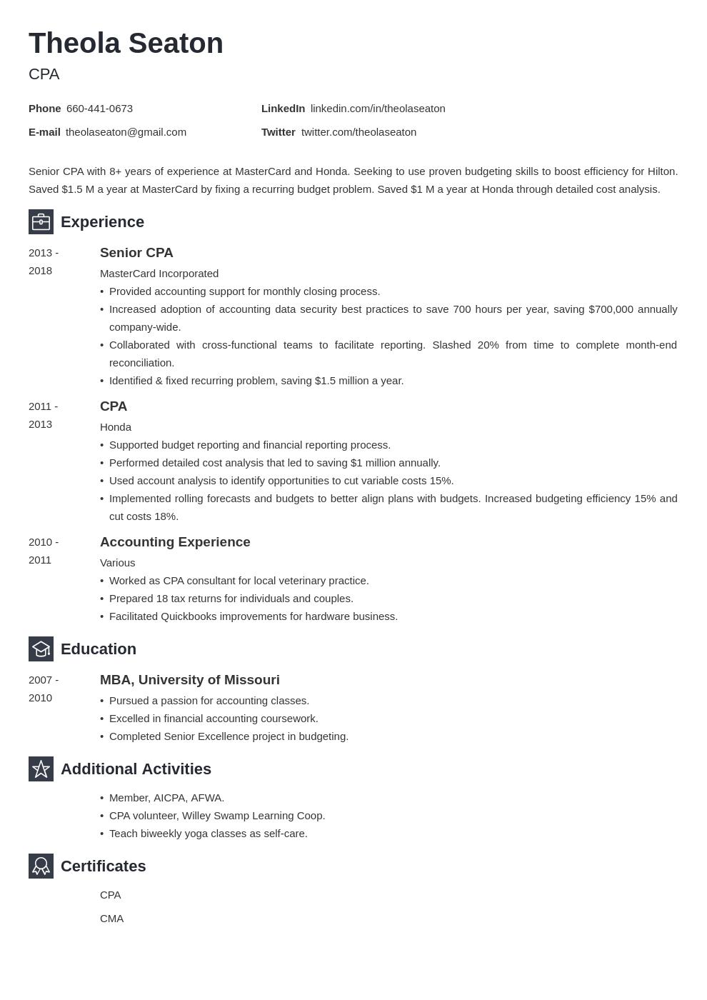 accounting template newcast uk
