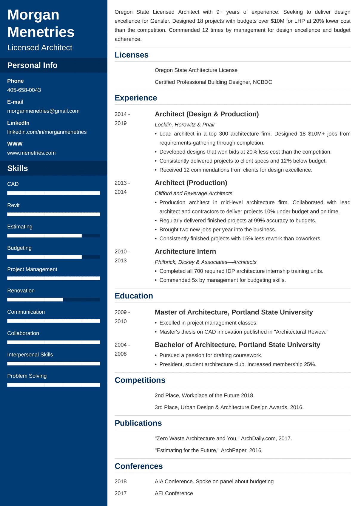Custom resume writing 101