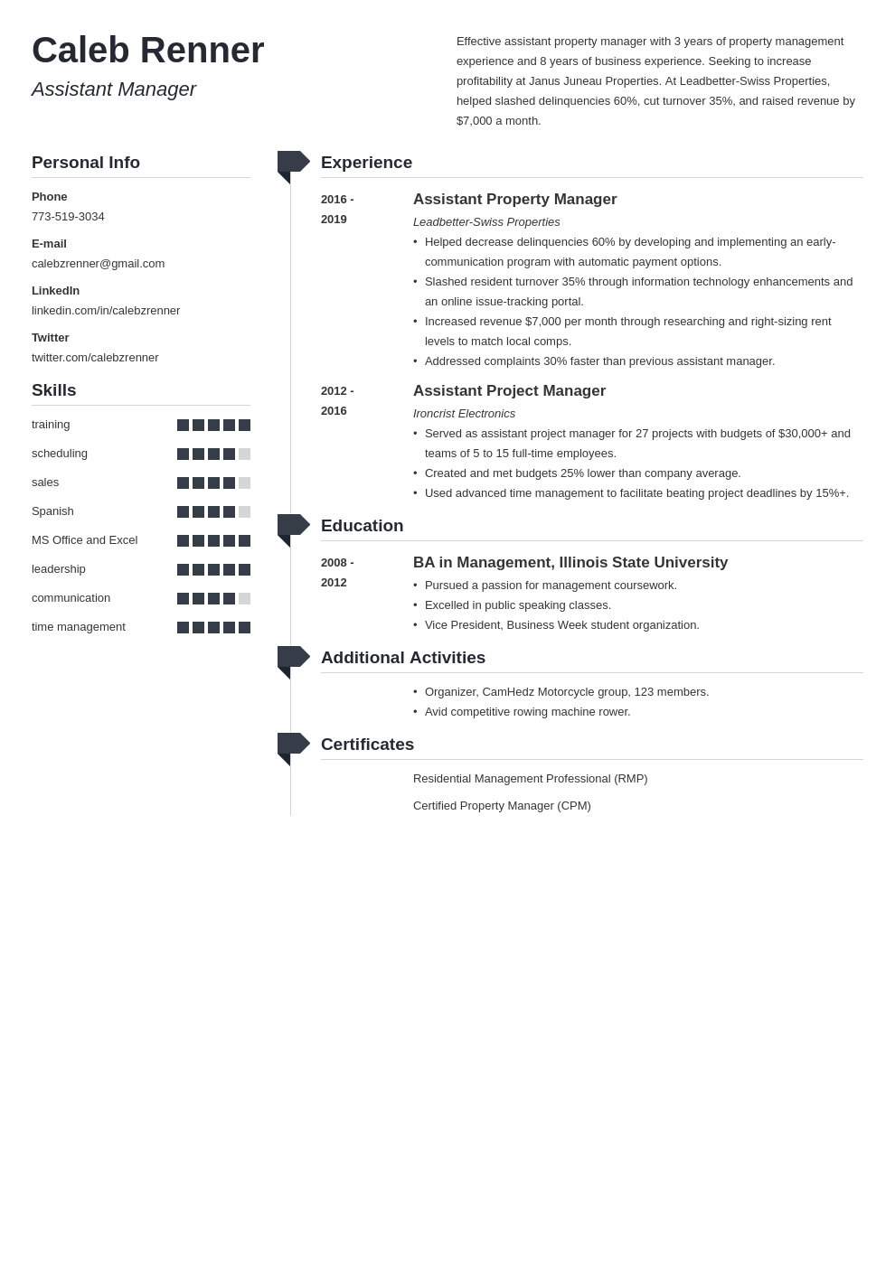 assistant manager template muse uk