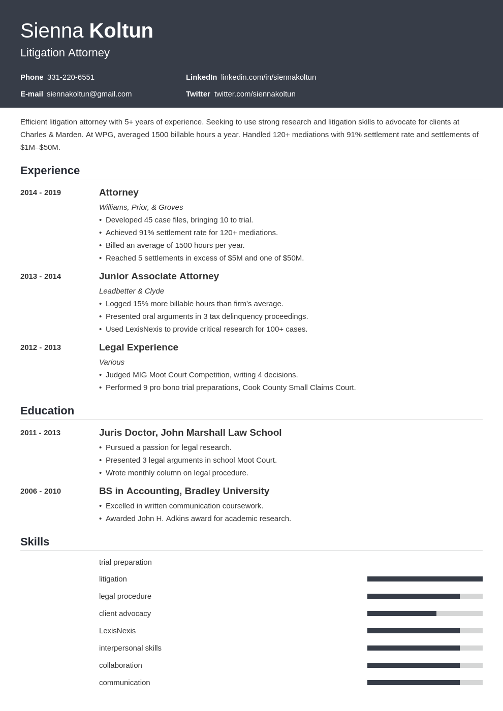 attorney template influx