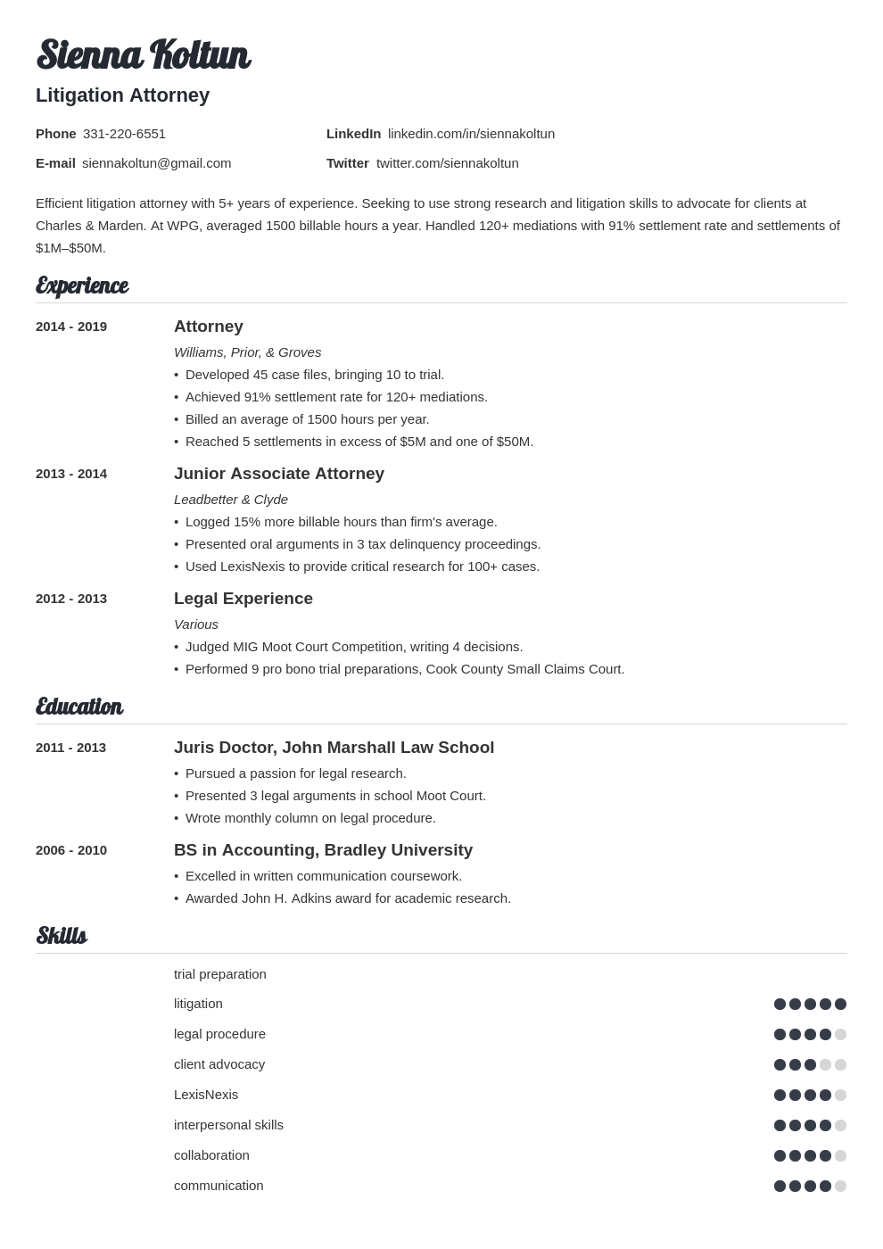 attorney template valera