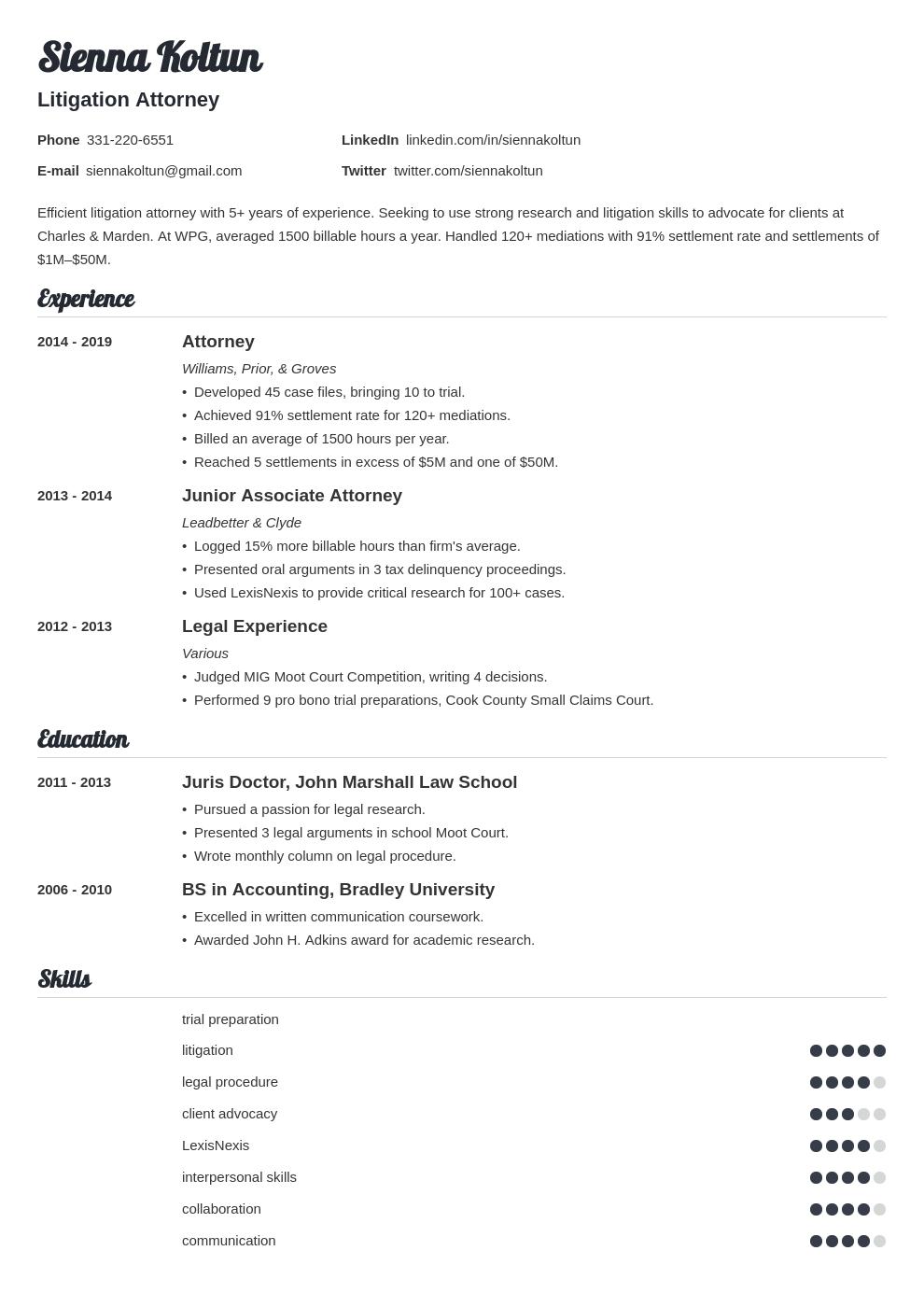 attorney template valera uk