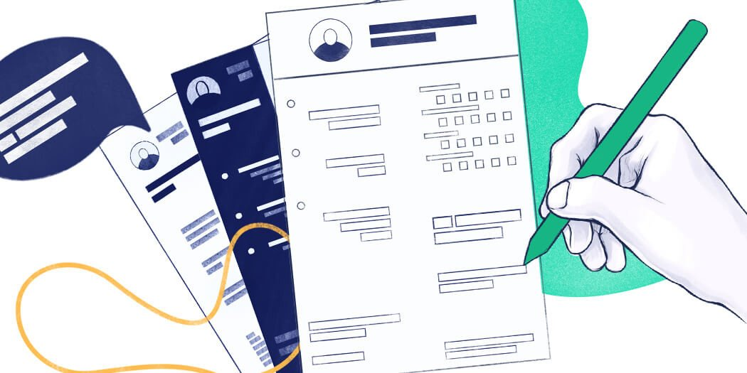 18 Best CV Templates for All Professions [Fill In & Download]