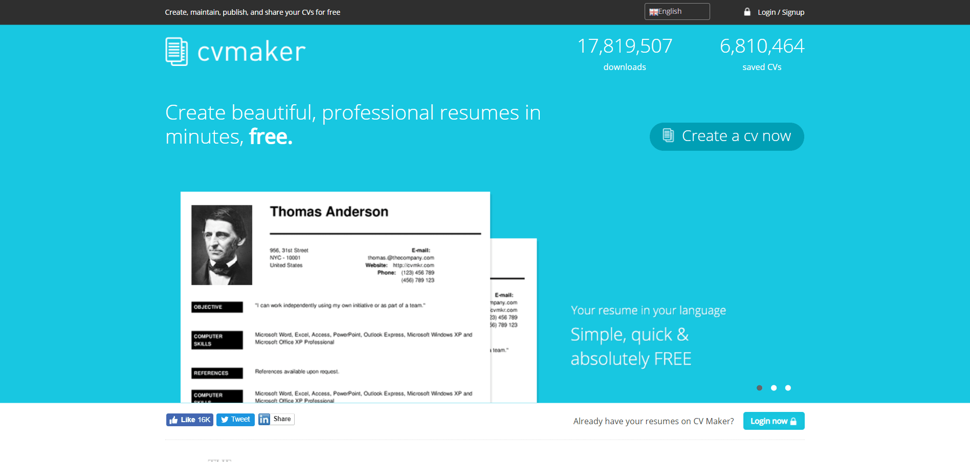 10 Best Free Resume Builders Online Reviewed Example Resumes