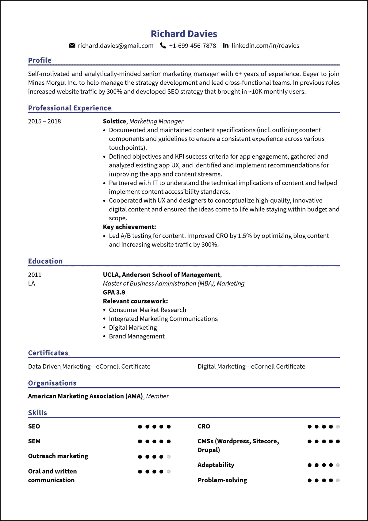 10+ Best Free Resume Builders Online Reviewed [+Example Resumes]