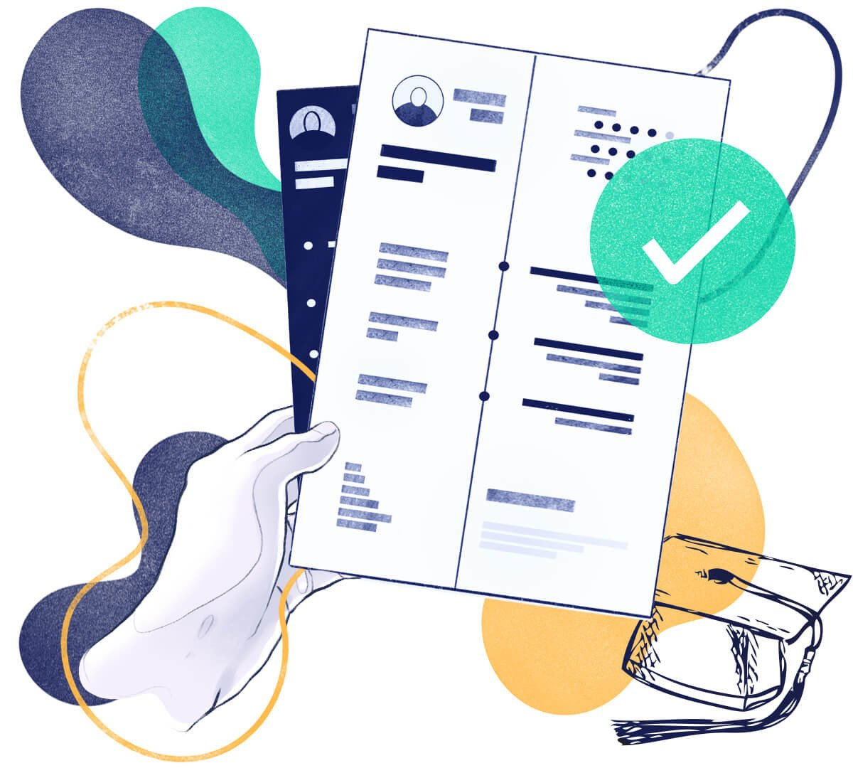 University Student CV Template—20+ Writing Tips & Samples
