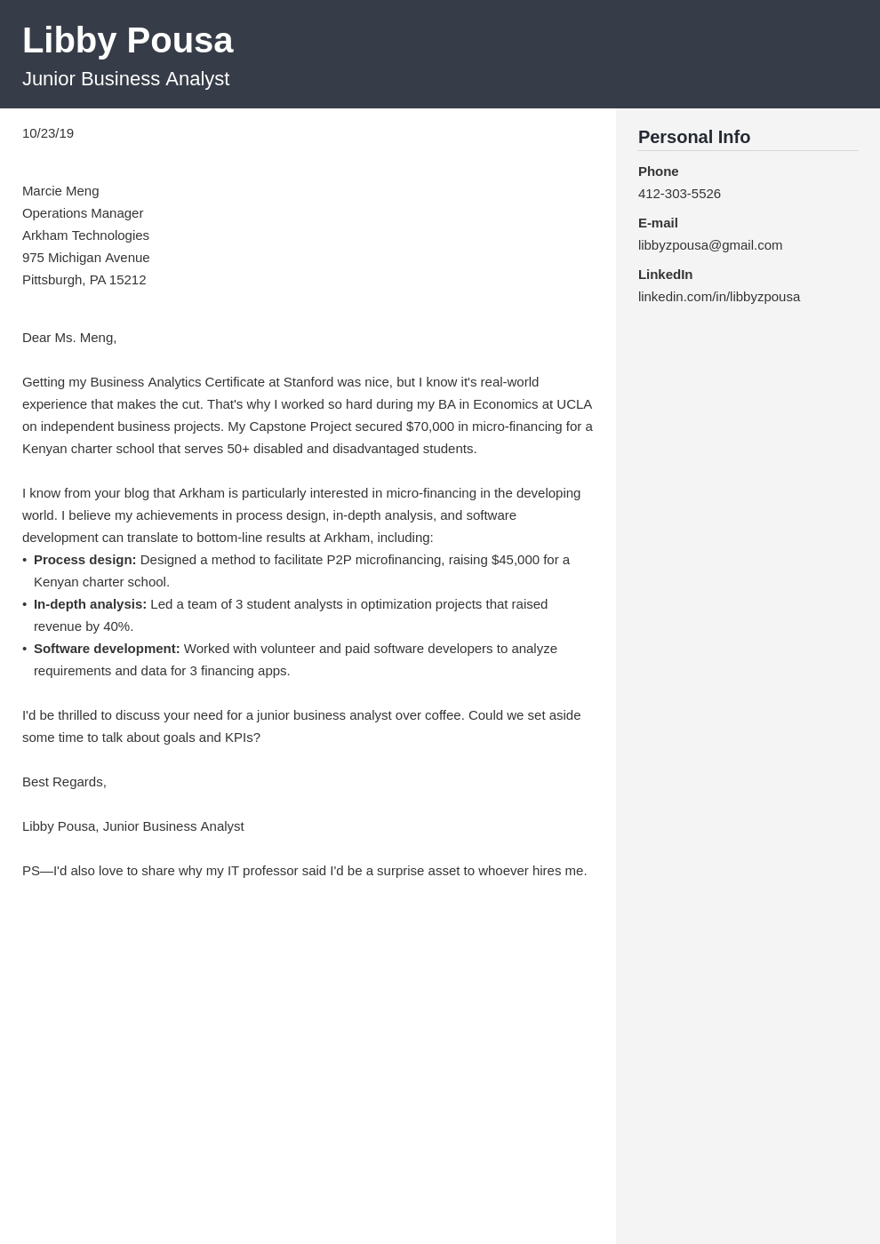 cover letter examples business analyst template cubic