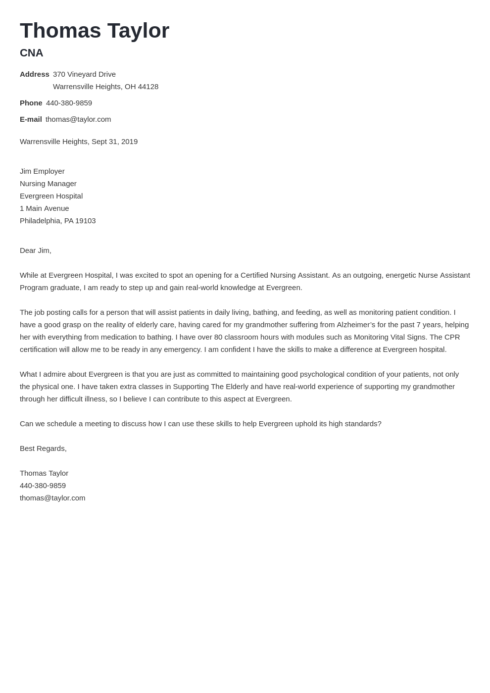 cover letter examples cna template valera uk