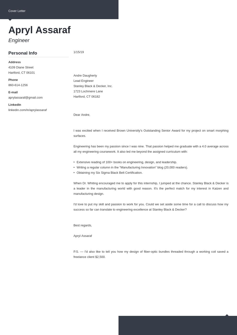 cover letter examples internship template modern uk