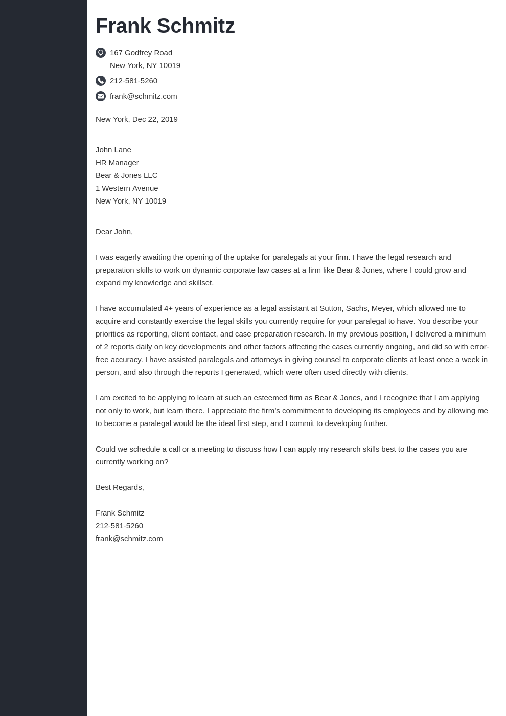 cover letter examples legal template concept