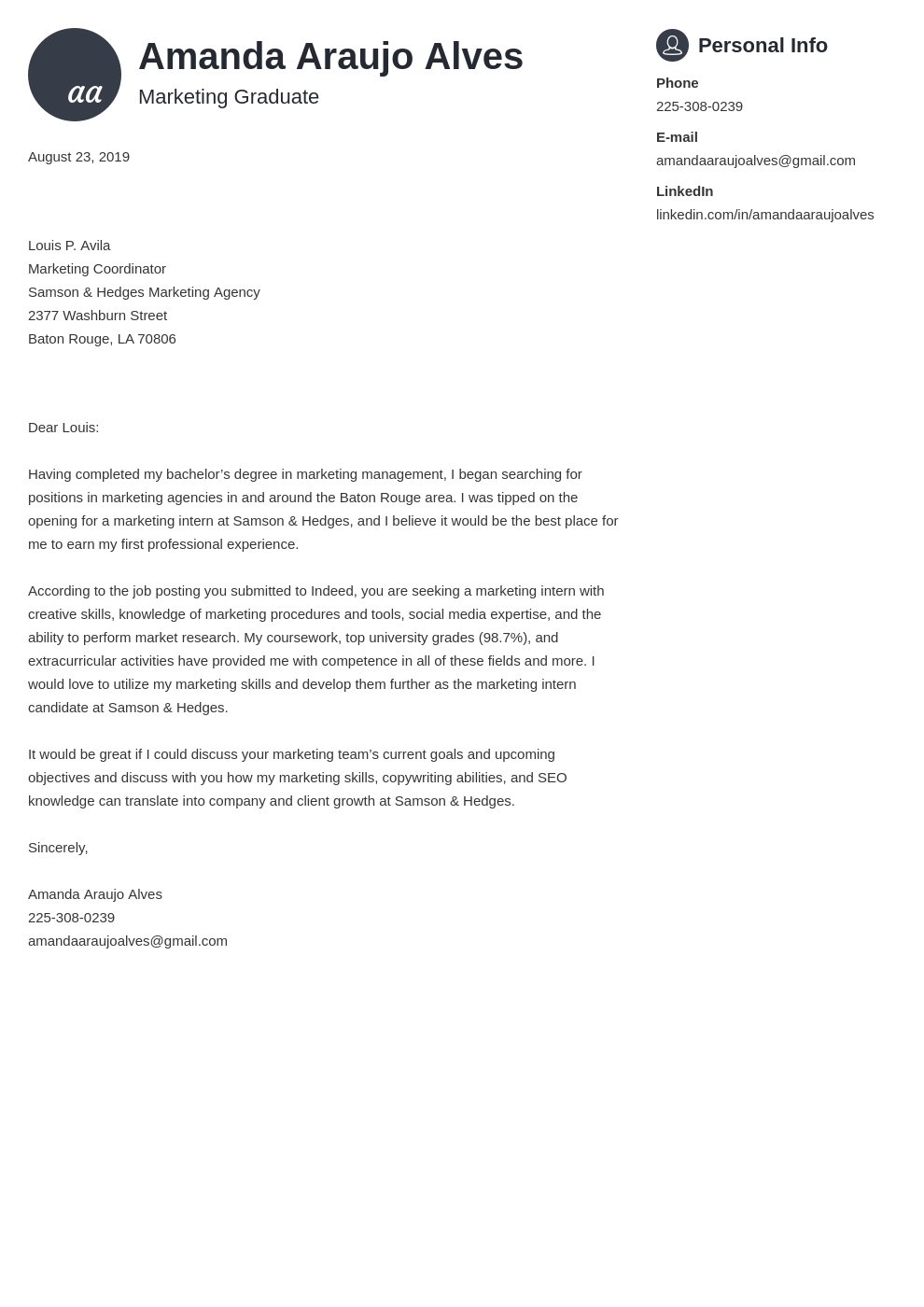 cover letter examples marketing template primo
