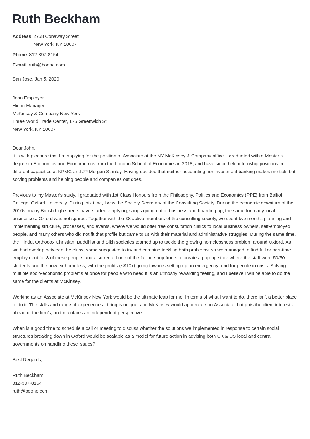 cover letter examples mckinsey template nanica