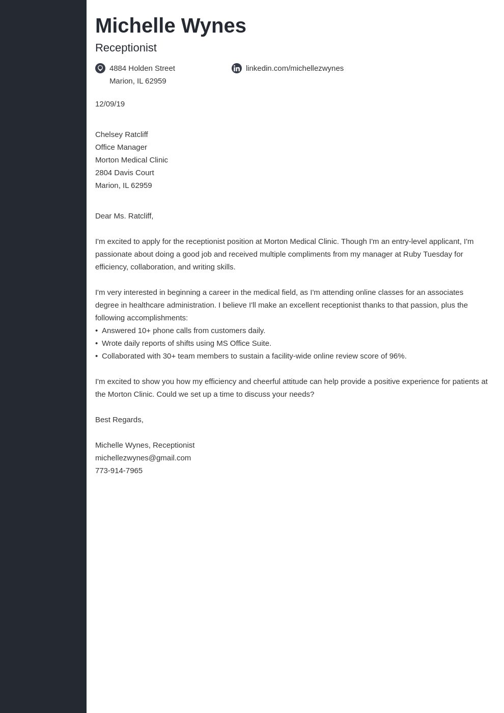 cover letter examples no experience template concept uk