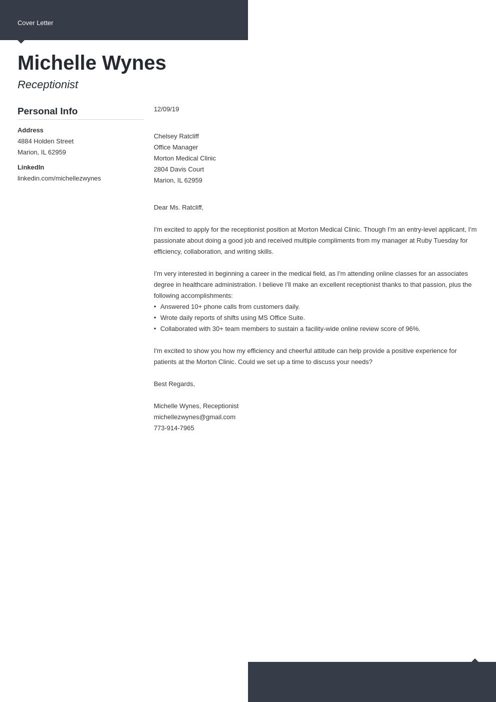 Best Employment Cover Letter Top Concept Delicious
