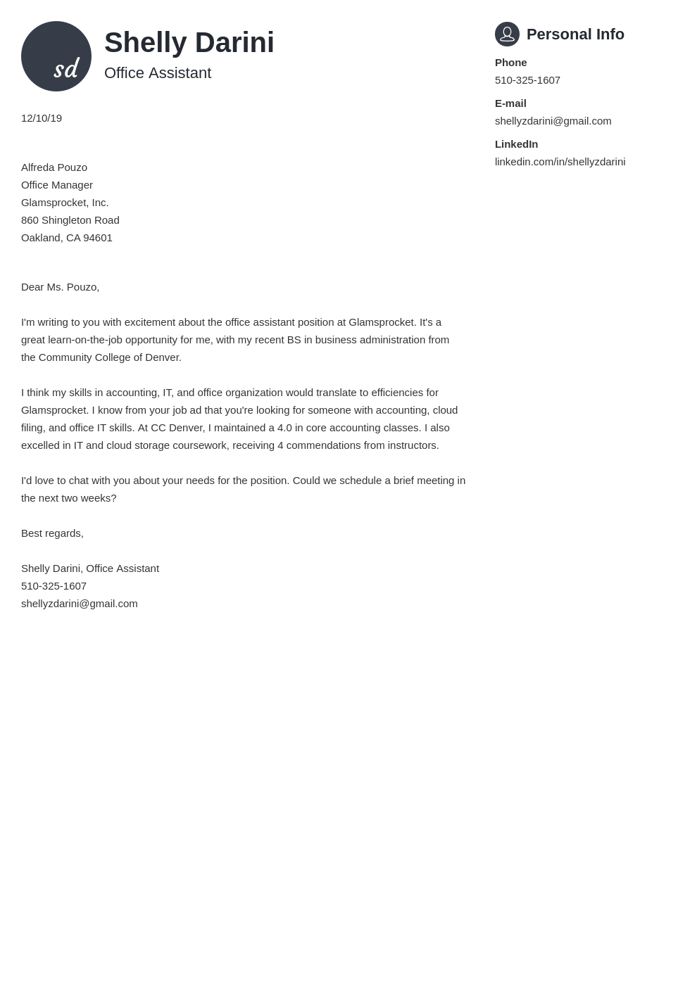 cover letter examples office assistant template primo uk