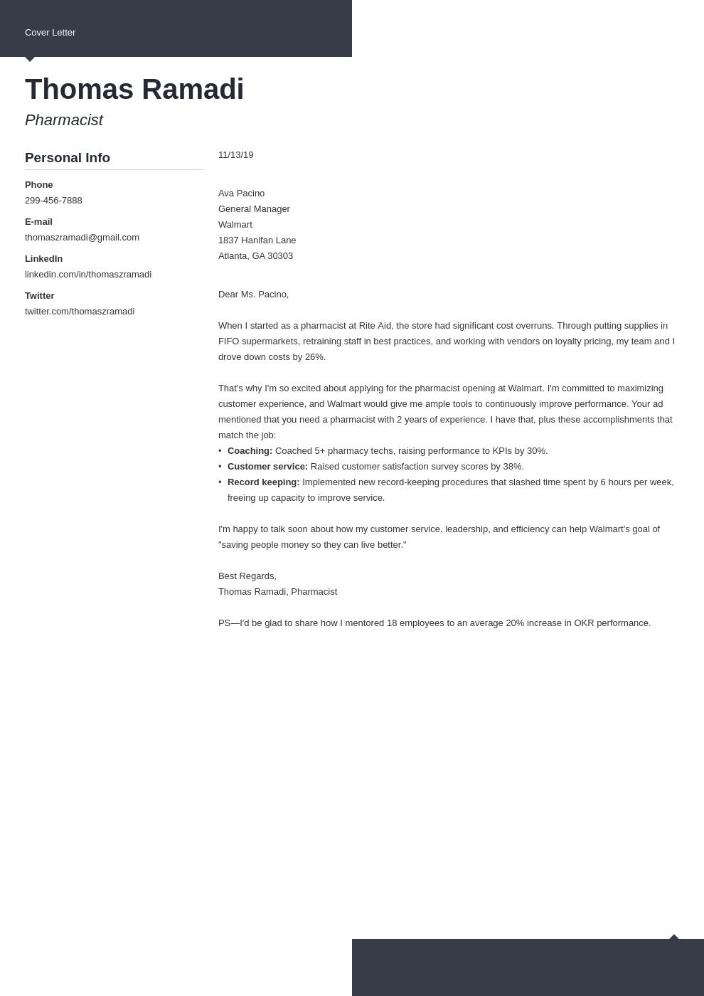 cover letter examples pharmacist template modern uk