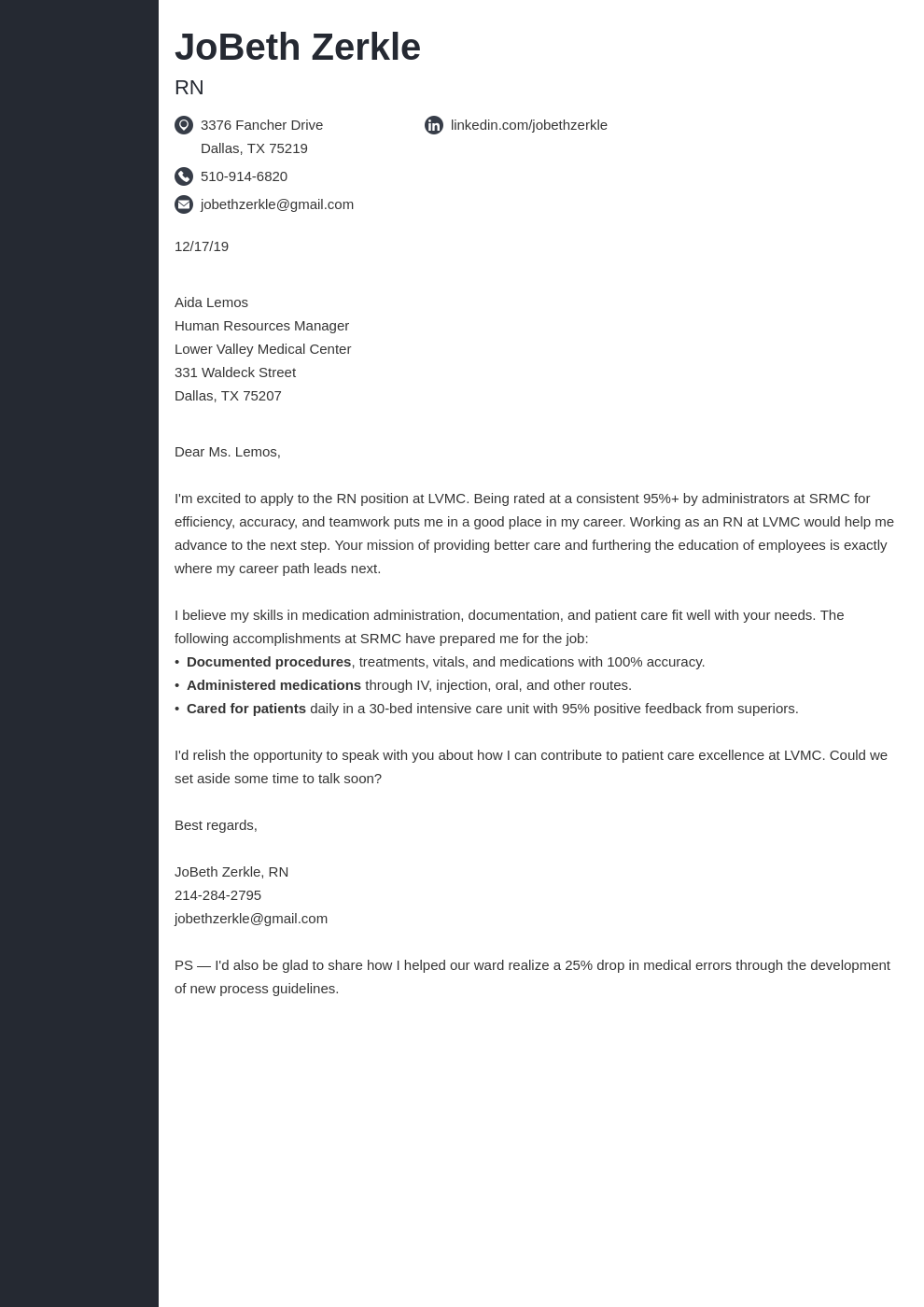 cover letter examples rn template concept uk