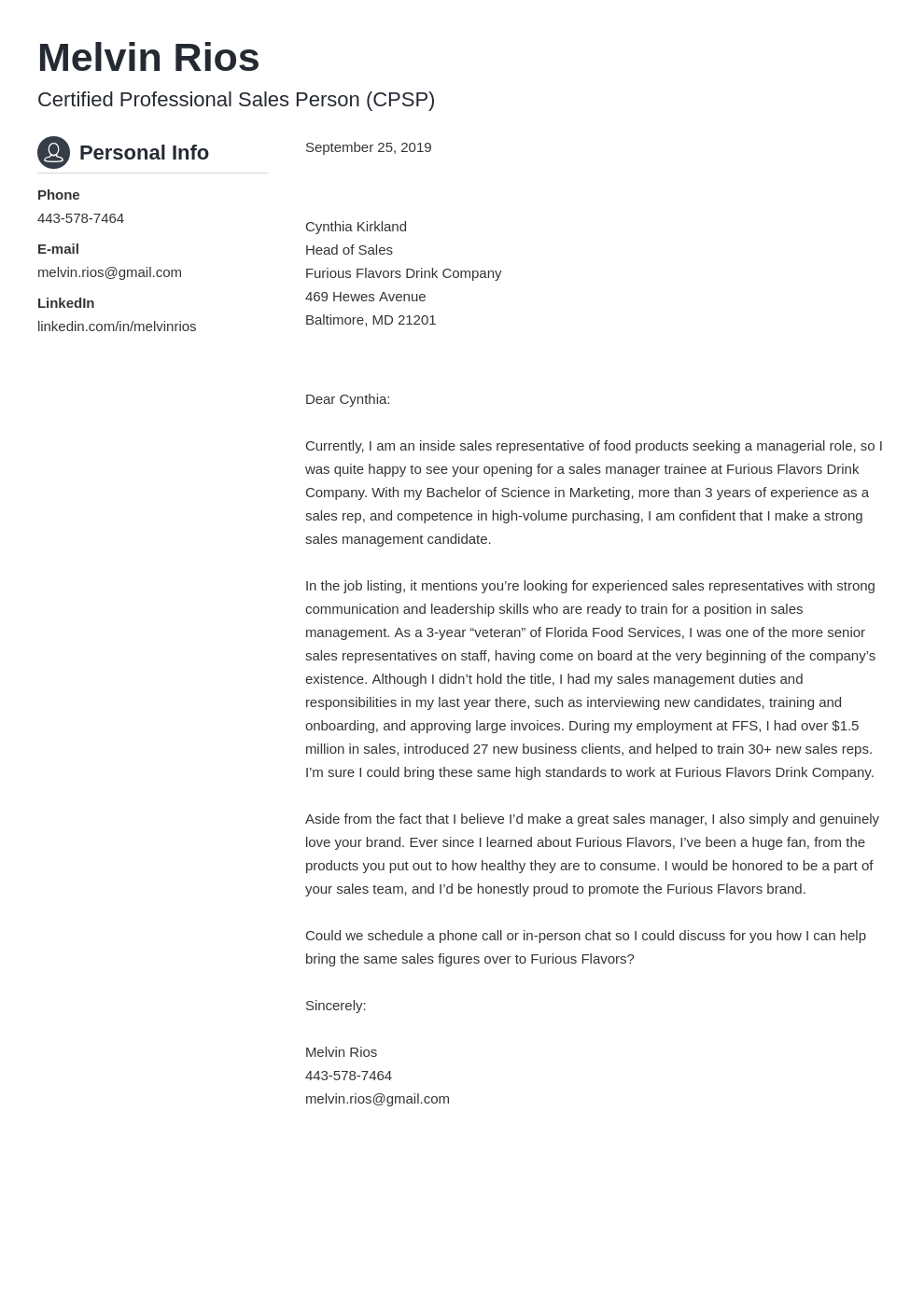 cover letter examples sales template crisp uk