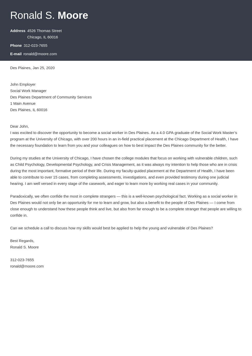 cover letter examples social work template diamond