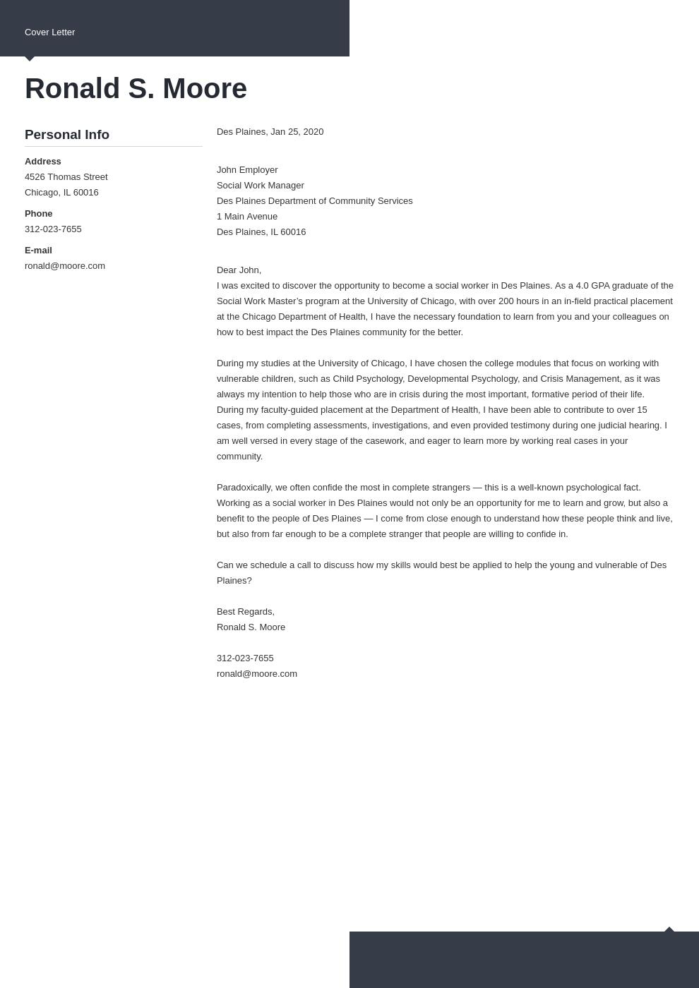 cover letter examples social work template modern uk