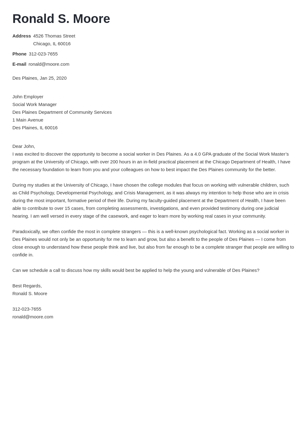 cover letter examples social work template nanica