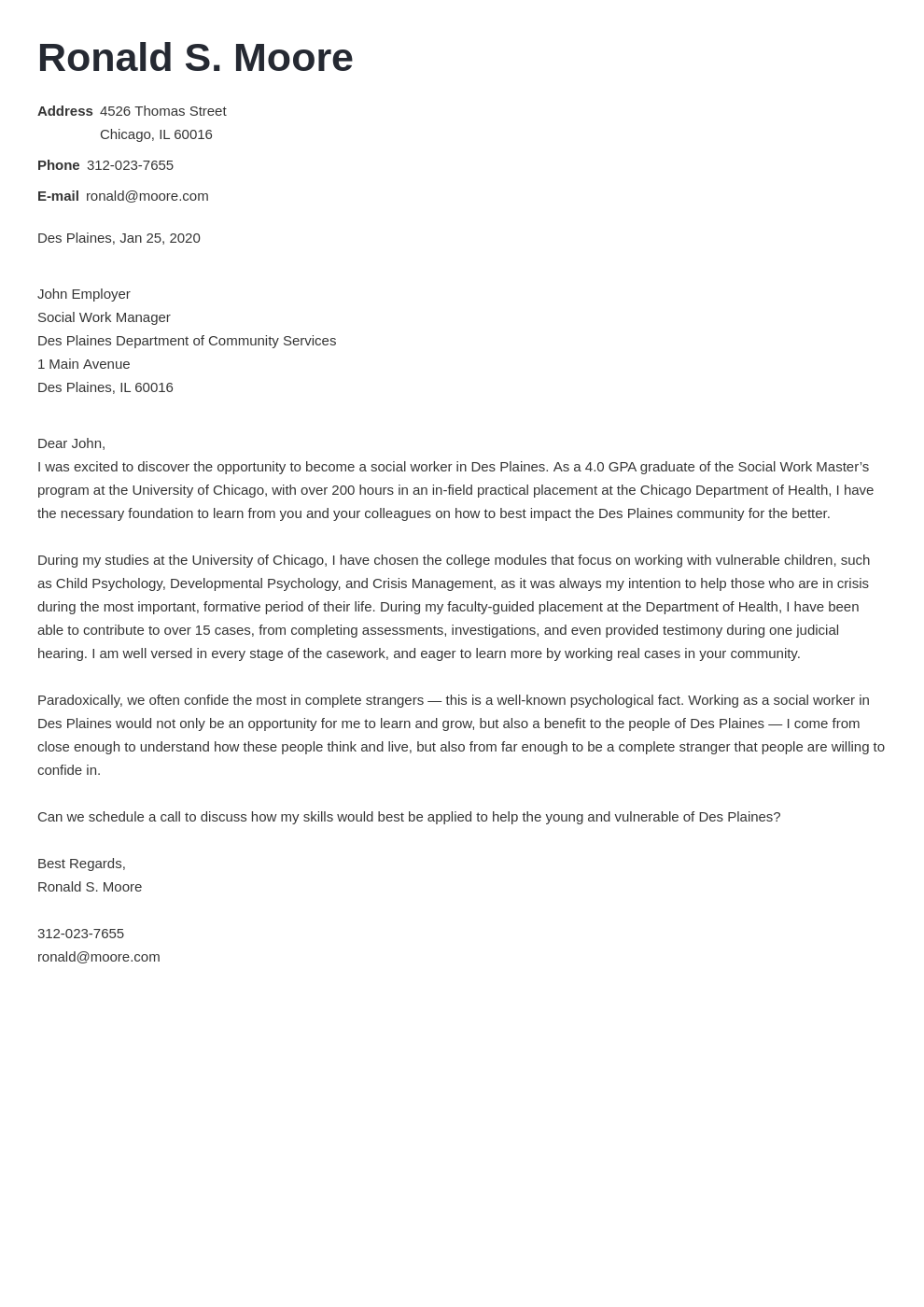 cover letter examples social work template valera