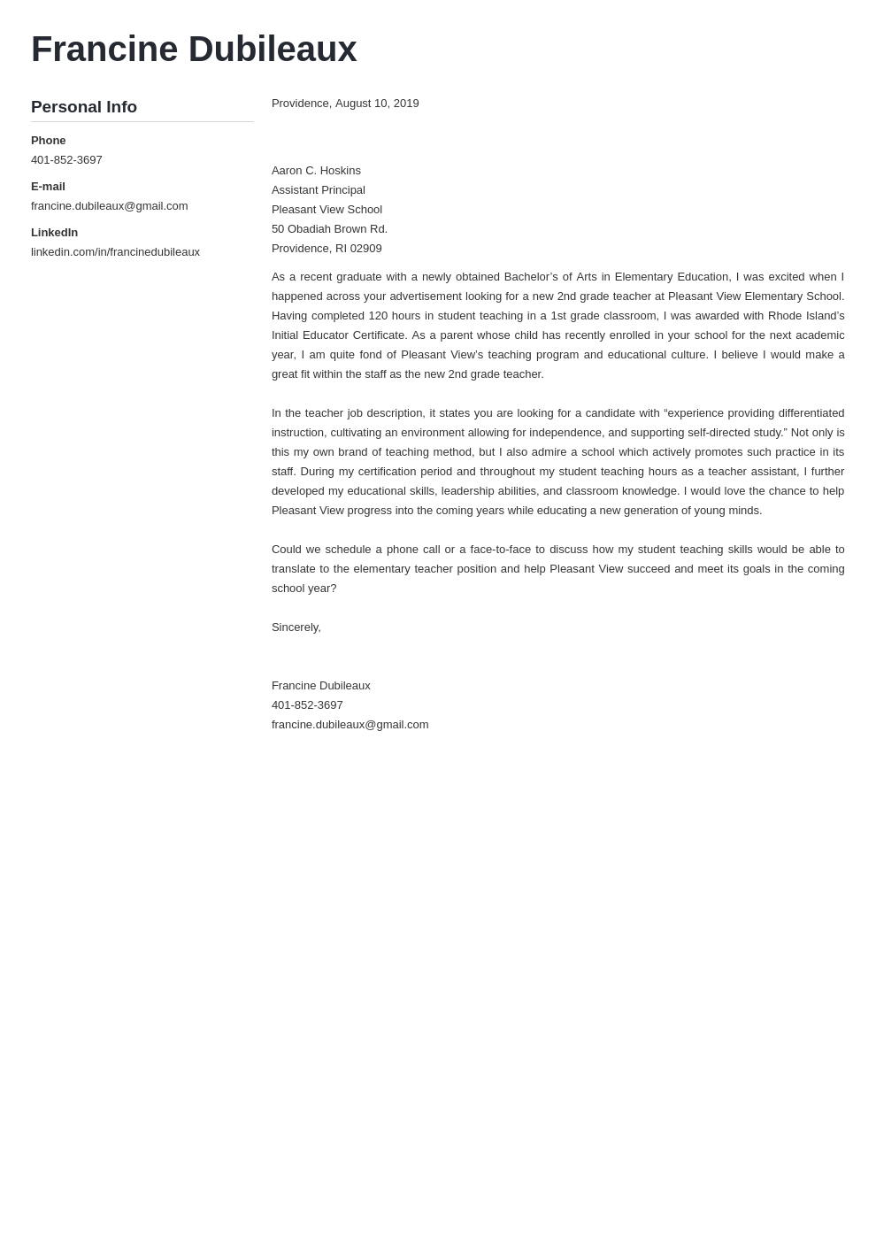 cover letter examples teacher template muse