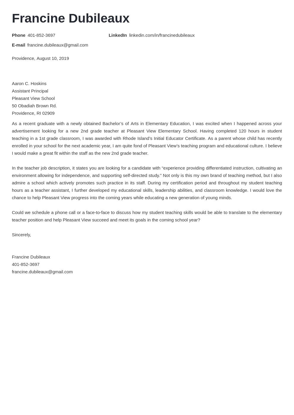 cover letter examples teacher template valera uk