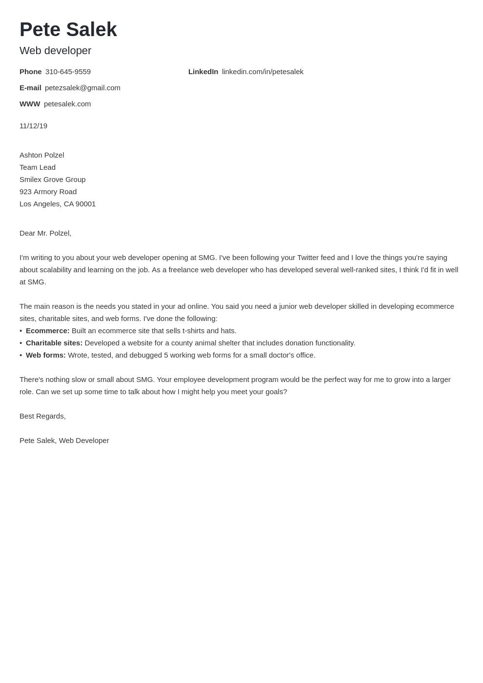 cover letter examples web developer template nanica uk