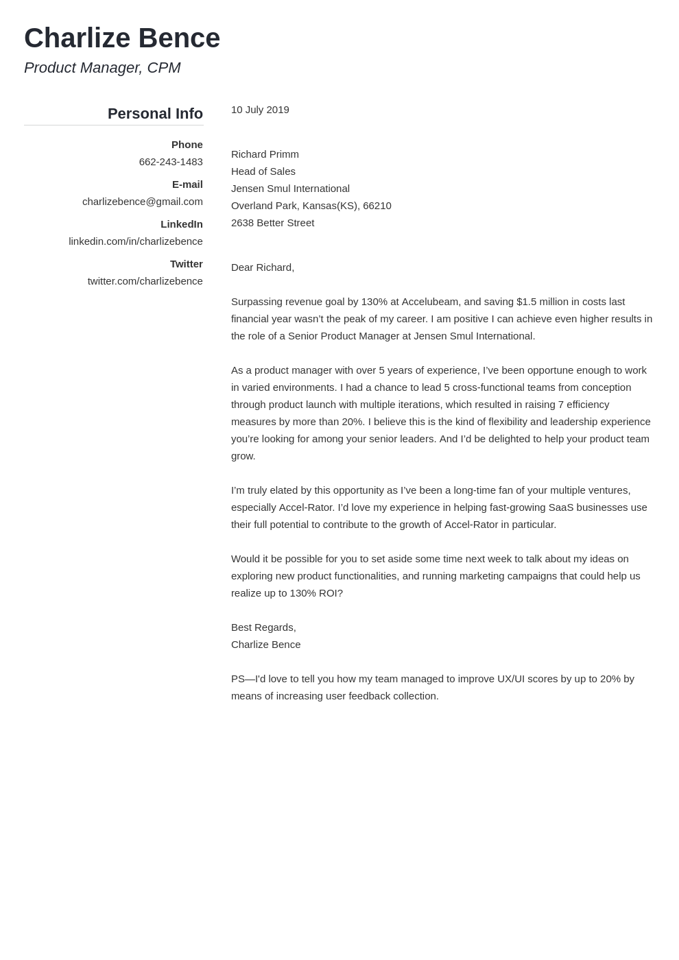 cover letter how long template simple