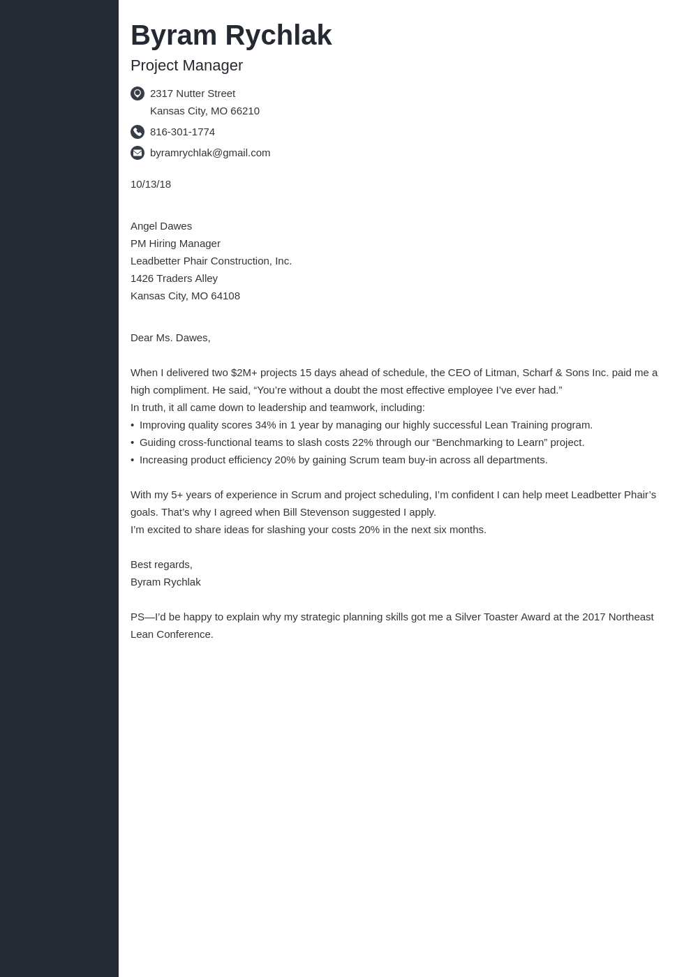 cover letter how to end template concept uk
