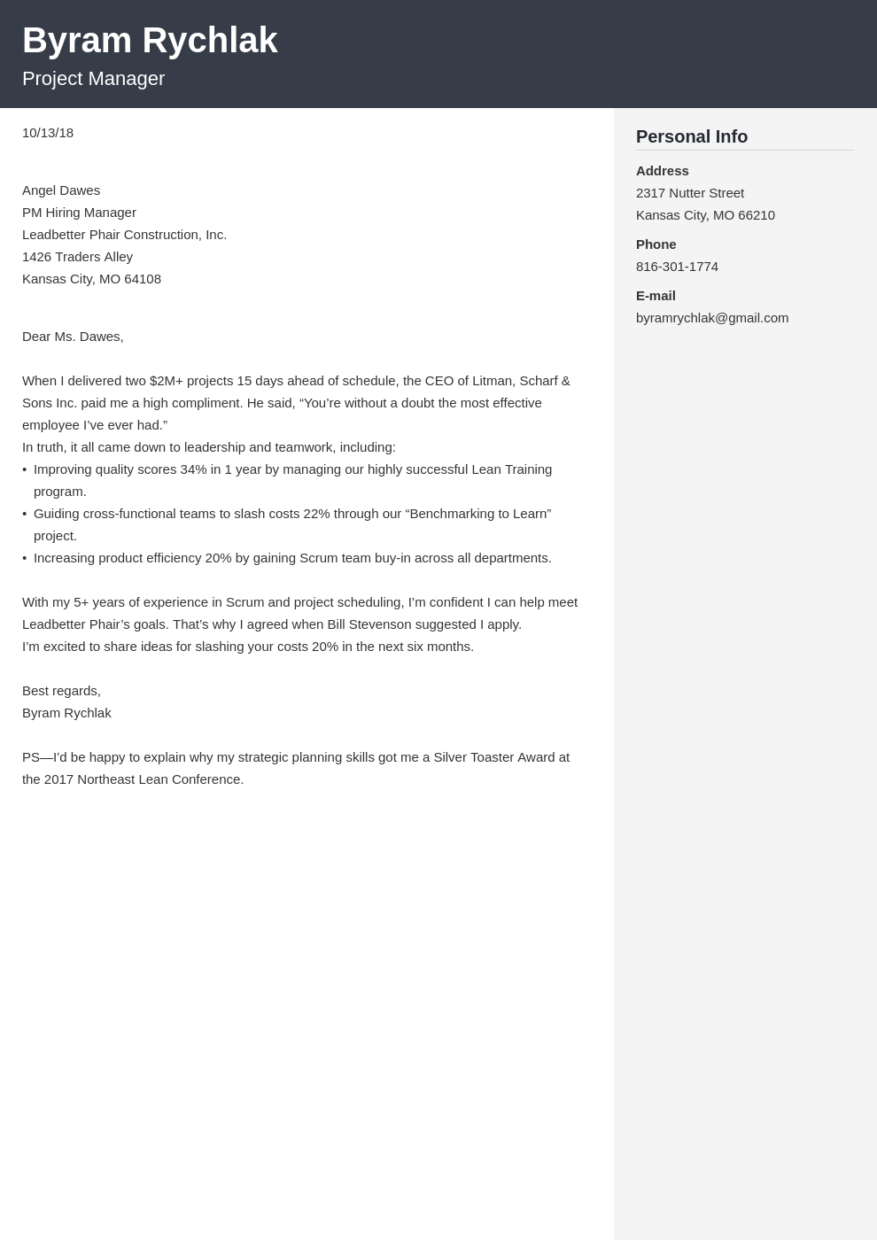 How To End A Cover Letter Example Cover Letter Closings