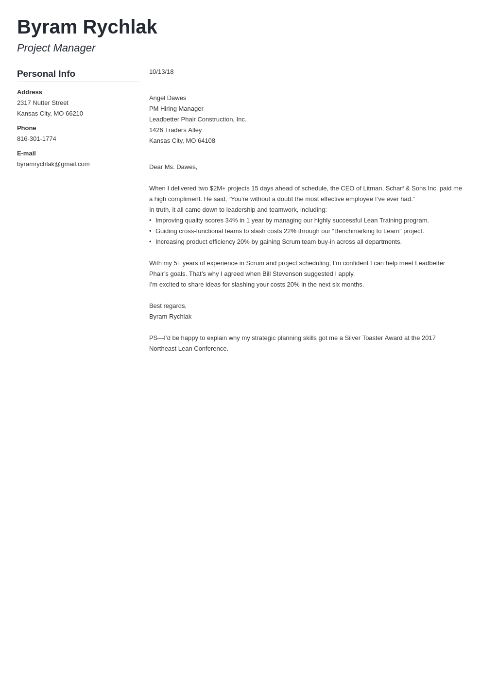 cover letter how to end template muse
