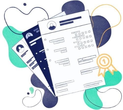 Currículo criativo no Word: modelos criativos de currículo
