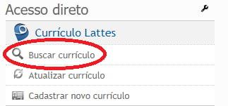curriculo lattes