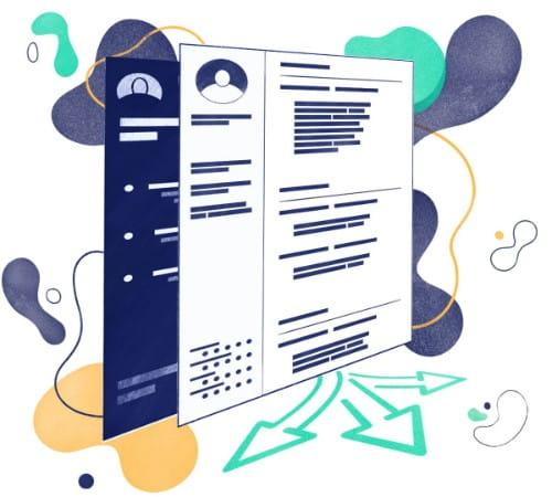 10 Plantillas de Currículum Básico para editar y descargar.
