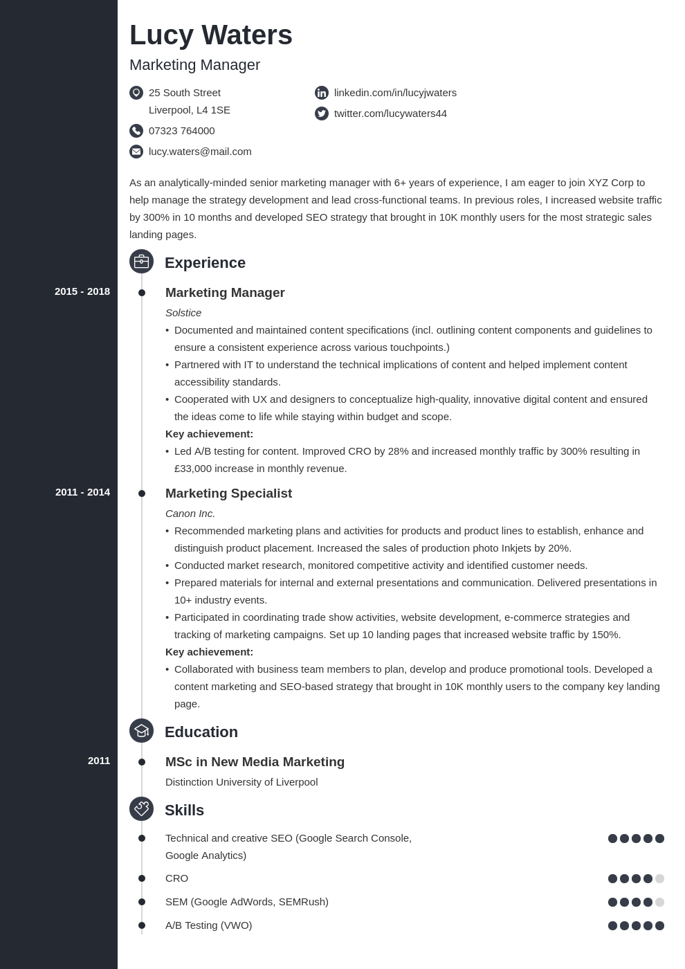 cv how to template concept uk