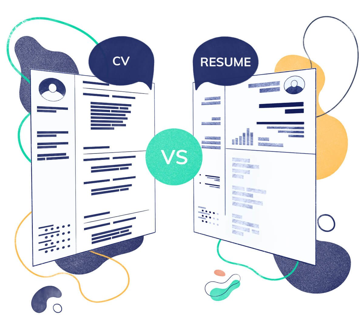 The Difference Between A CV And A Resume