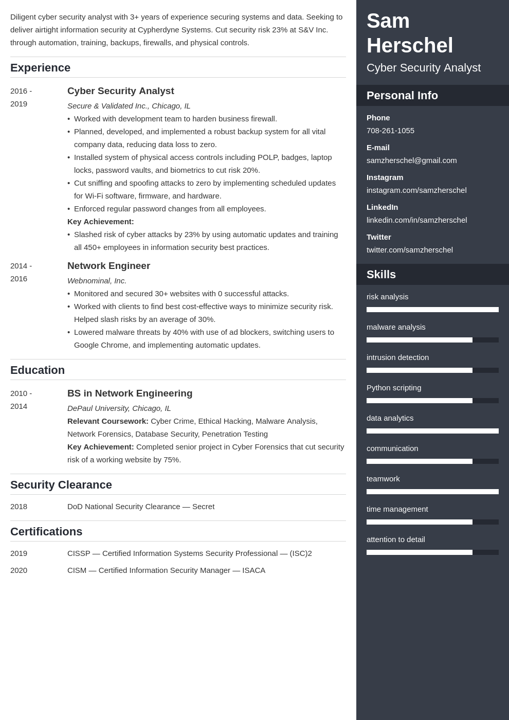 cyber security template enfold uk