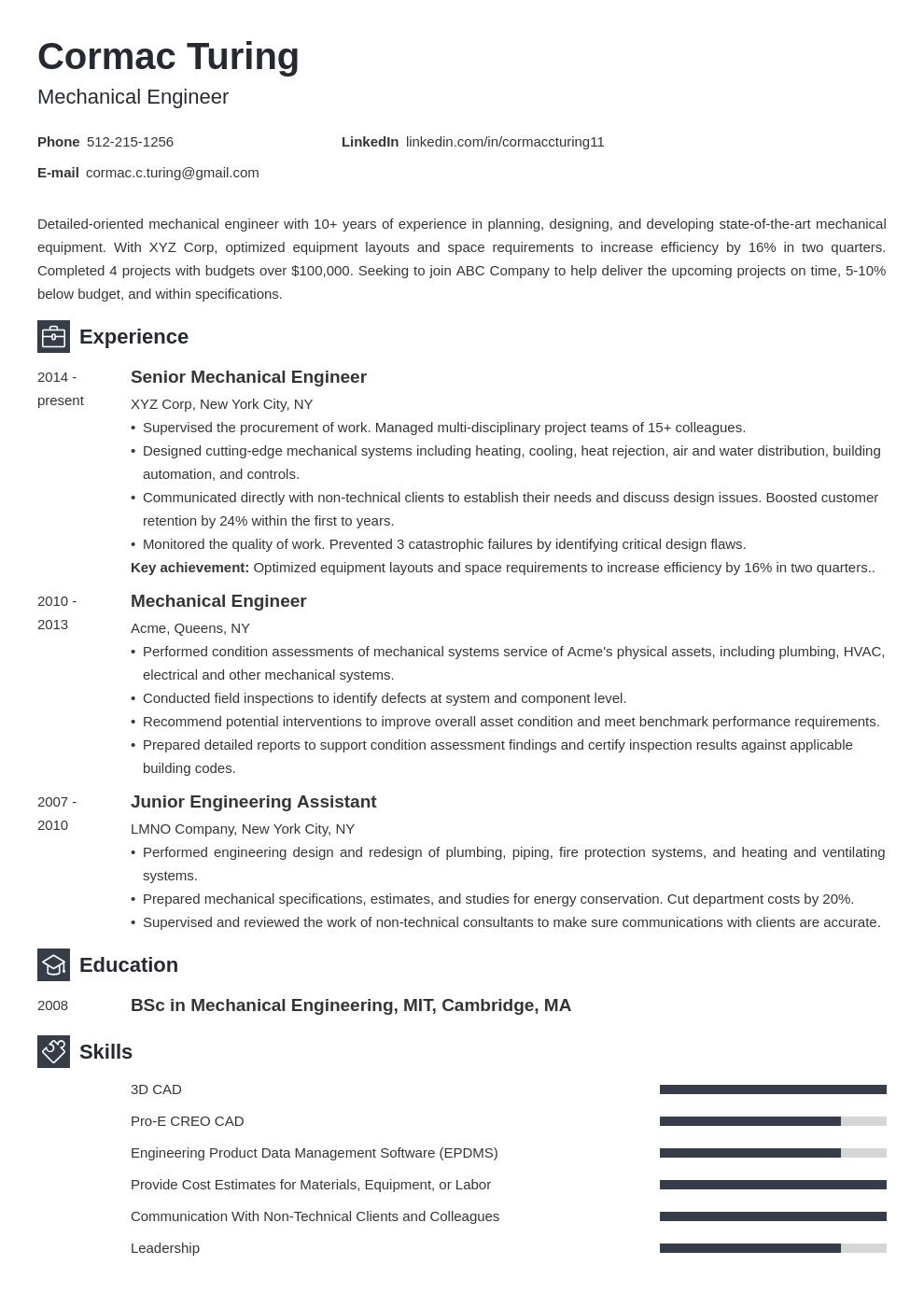 engineering template newcast uk