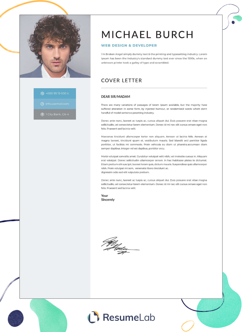 50 Cover Letter Templates Microsoft Word Free Download