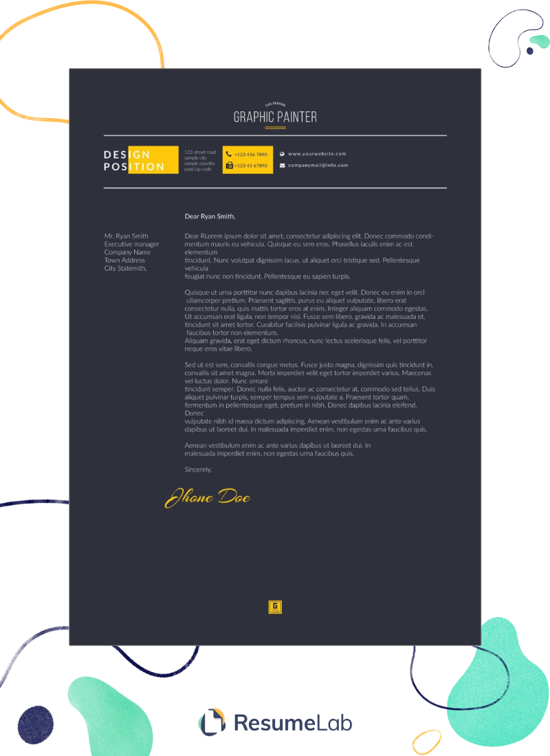 50 Free Cover Letter Templates for Word: Modern, Simple & More