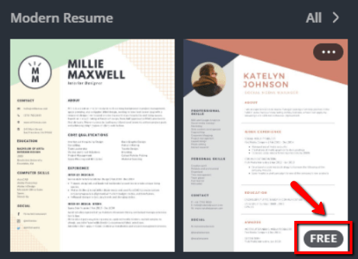 Resume Template Canva from cdn-images.resumelab.com